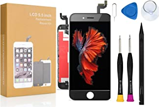 Compatible with iPhone 6S Plus Screen Replacement COASD LCD Digitizer Touch Screen Assembly Set with 3D Touch Model No: A1634, A1687, A1699 (Black)