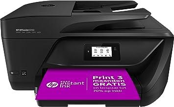 Amazon.nl-HP OfficeJet 6950 e-All-in-One XMO2, Draadloze Wifi kleuren inktjet printer voor thuis (Printen, kopiëren, scannen, faxen) Inclusief 3 maanden Instant Ink-aanbieding