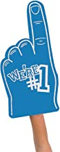 FX We're Number #1 Finger Team Color Cheerleading Foam Hand (Blue)