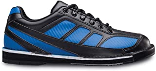 Brunswick Mens Phantom Bowling Shoes Right Hand Wide- Black/Royal