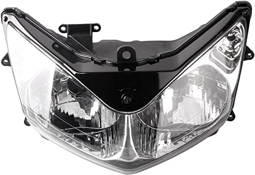 wholesale Mallofusa Motorcycle Front Headlight Headlamp Assembly Compatible for Honda ST1300 2001 2002 2003 2004 2005 2021 2006 2007 2008 2009 outlet sale 2010 2011 outlet online sale