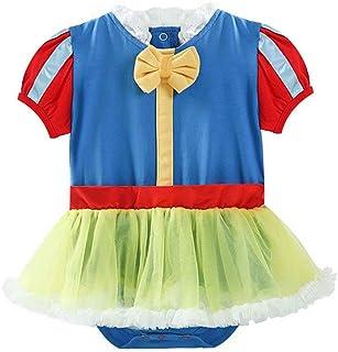 Tsyllyp Baby Girls Princess Onesie Costume Tutu Bodysuit Romper Halloween Christmas Dress Up