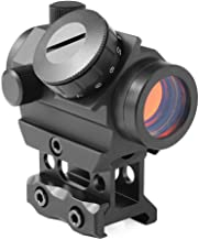 Feyachi RDS-25 Red Dot Sight 4 MOA Micro Red Dot Gun Sight Rifle Scope with 1 inch Riser Mount