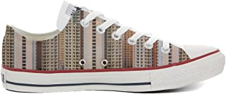 c952917cb5e2 Converse Women s All Star (shoes customized) hand printed Italian style  Architecture Of Density size