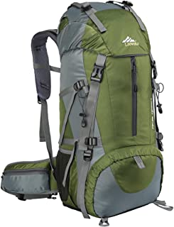 ecec218039 Loowoko 50L Imperméable Sac à Dos Grande Contenance Backpack Mountaineering  Sac à Dos Travel Backpack avec