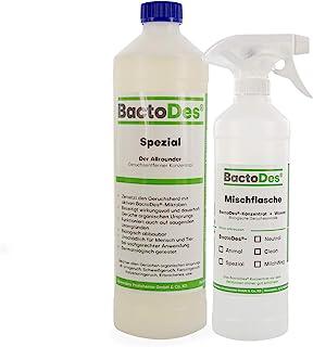 BactoDes Specjalny 1 l | uniwersalny środek do usuwania zapachów | neutralizator zapachu moczu