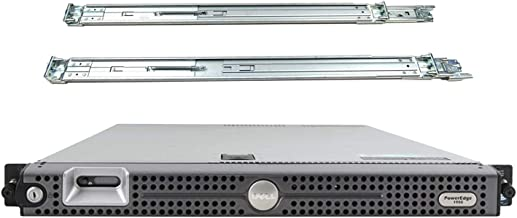 Dell PowerEdge 1950 Server, 2 x Xeon 3.0GHz E5450, 64GB DDR2, 4TB SAS, PERC 6i RAID, DRAC 5 Enterprise, Rail Kit (Renewed)