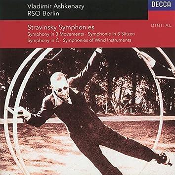 Stravinsky: Symphony In C/Symphony In 3 Movements/Symphonies Of Winds