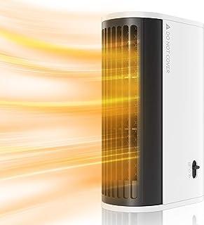Mini Calentador de Aire Caliente, Calefactor Portátil Eléctrico Bajo Consumo con Protección contra Sobrecalentamiento, Ide...