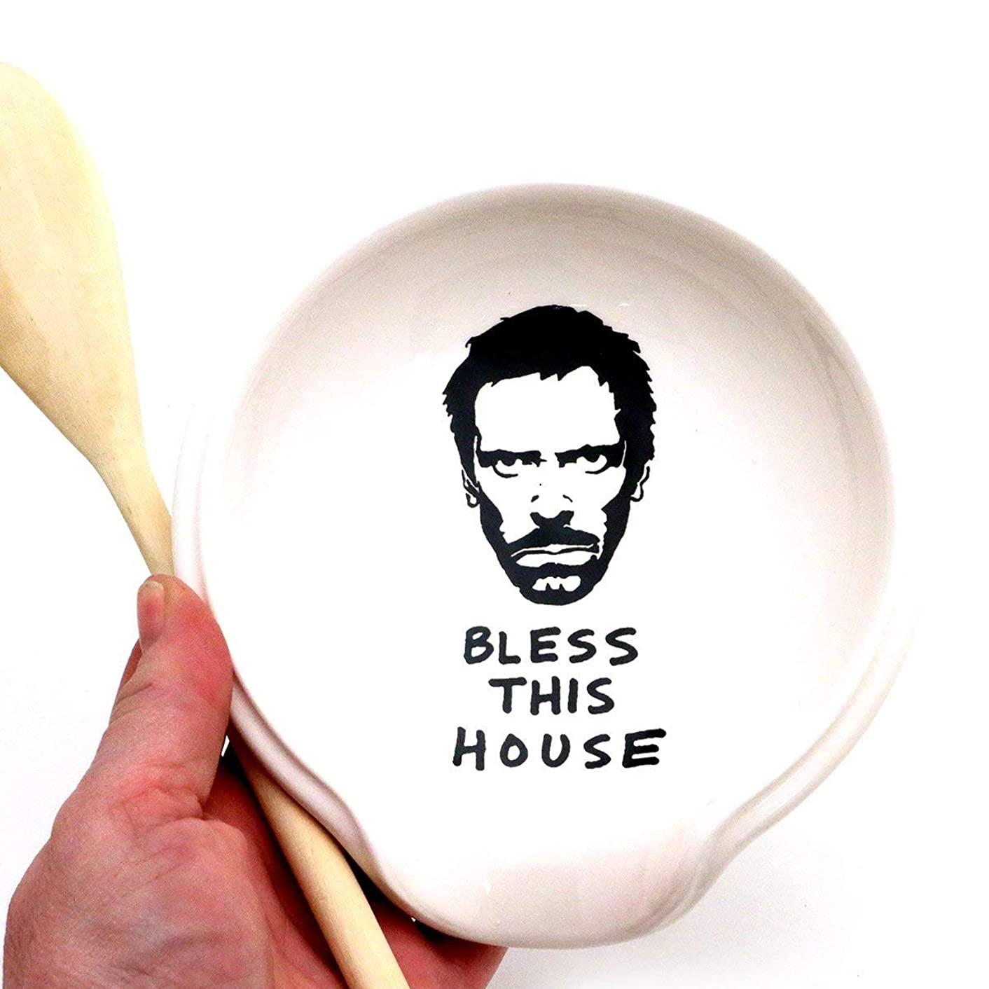 House MD Hugh Laurie Spoon Rest Spoonrest