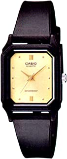 Casio Sport Watch Analog Display Quartz for Women LQ-142E-9A, Gold
