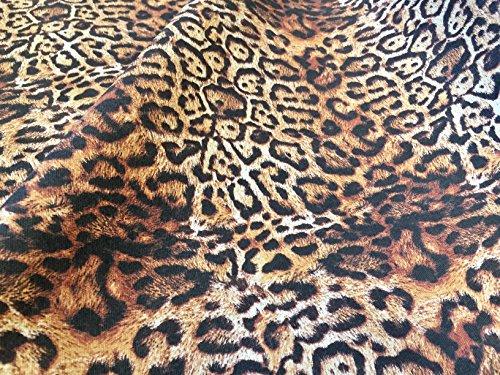 Puma leopardo Material de la tela de algodón de tapicería 140 cm de ancho - estampado de tela (se vende por metros)