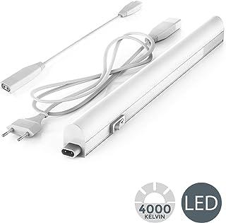 B.K.Licht - Regleta LED bajo armarios y cabinetes, de luz
