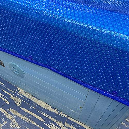 Lona Cobertor Piscina El Verano Rectangular Cubierta de Piscina Solar, Azul Tarea...