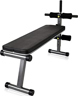 YouTen(ユーテン) マルチシットアップベンチ 折り畳み フラットベンチ インクラインベンチ ダンベル 筋トレ ベンチ トレーニングベンチ 色ハンマートーン