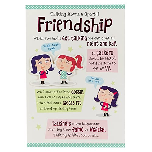 Hallmark Birthday Card For Friend Chat All Night And Day