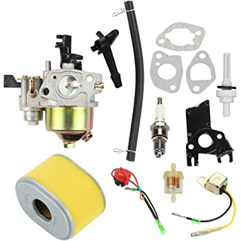 Kizut Carburetor Rebuild Repair Kit for Honda GX140 5HP GX160 5.5 ...