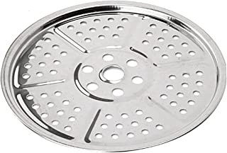 Chytaii Rejilla Soporte de Vapor Olla Bandeja Estante de Acero Inoxidable Redondo Utensilio de Cocina Estante de Vapor para Cocinar Alimentos 24cm