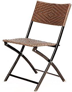 Shisyan Chaise pliante Chaise de bureau Chaise pliante en rotin Conférence Chaise Chaise informatique Chaise d'extérieur C...