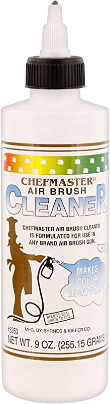 Chefmaster By US Cake Supply 9 Ounce Airbrush Cleaner