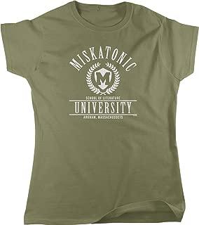 Miskatonic University, Arkham, MA Women's T-Shirt