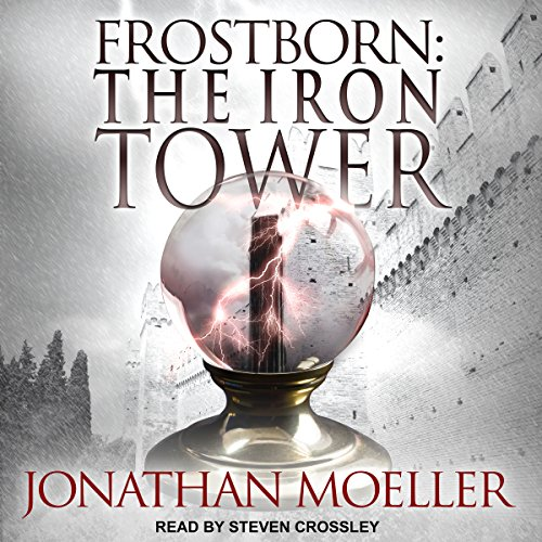 Frostborn: The Iron Tower audiobook cover art