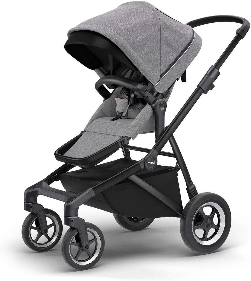 Thule Sleek Stroller - Grey Melange/Black - 11000021