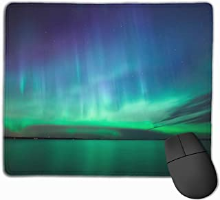 "Beautiful Northern Lights Gaming Mouse Pad Non-Slip Rubber Mouse Mat for Computers Desktops Laptop 9.8"" x 11.8"""