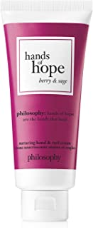 Philosophy Hands of Hope - Berry And Sage Cream for Unisex - 1 oz Hand Cream