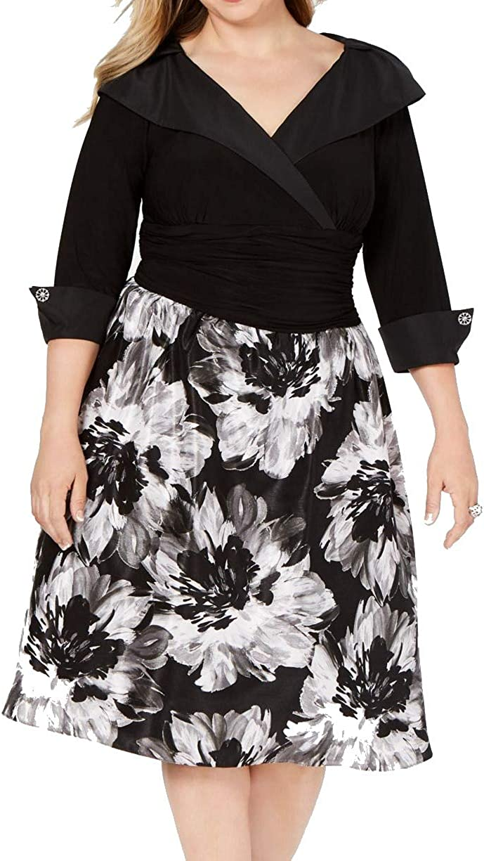 S.L. Fashions Women's Plus Size Tea Chicago Mall Fit Tuck Fla Animer and price revision and Length Neck
