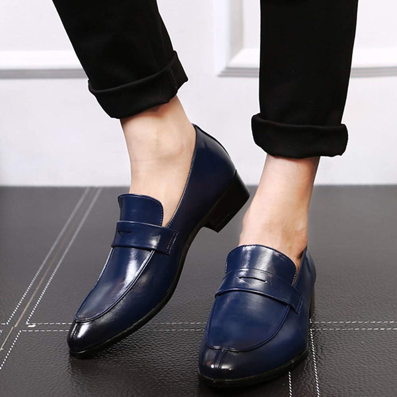 AADDIN Leather shoes Men Business Dress shoes Black shoes Breathable Formal Wedding shoes