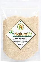 NatureVit Psyllium Husk Powder, 400g [Fiber Supplement, Perfect for Keto Bread and Gluten Free Baking]