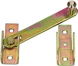KOTARBAU® Slagladenworp 120 mm venster luiken dubbele poort overwerp slagbelasting venster luiken lades wartel verzinkt geel