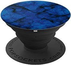 Blue-Black Stone-Slab Pop-Socket Gift for Teen Boys and Men