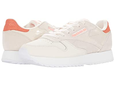 Reebok Lifestyle Classic Leather (Ceramic Pink/Twisted Coral/White) Women