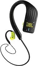 JBL Endurance Sprint – Auriculares Inalámbricos Deportivos In Ear con controles táctiles – Resistente al agua (IPX7) – Auricular manos libres – Bluetooth 4.2 – Color Negro, Amarillo
