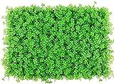 HSWYJJPFB Edera Finta per Recinzione Siepe Artificiale Ivy Leaf Sfondo decorativo in erba sintetica per giardino Cortile Foglia di arachidi grande Pannello di siepe artificiale verde Parete vegetale f