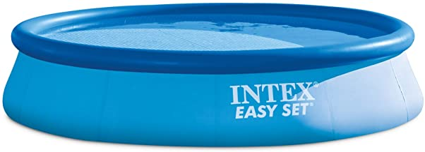 Intex Easy Set - Piscina con bomba de filtro, 396x 84cm