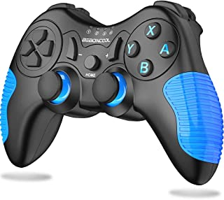 BEBONCOOL Wireless Controller for Nintendo Switch/Switch Lite, Switch Controller Remote with Dual Shock, Gyro Axis, Switch Pro Controller Gamepad Compatible with Bluetooth