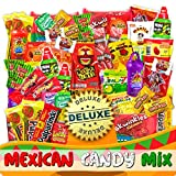 6. Mexican Candy Mix Assortment Snack (86 Count) Dulces Mexicanos Variety Of Best Sellers Sweet, SPICY and SOUR Bulk candies, Includes Luca Candy, Pelon, Pulparindo, Rellerindo, by JVR TRADE (SPICY)