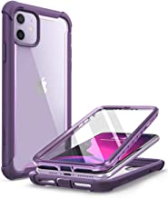 i-Blason Ares Case for iPhone 11 6.1 inch (2019 Release), Dual Layer Rugged Clear Bumper Case with Built-in Screen Protect...