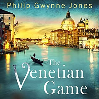 The Venetian Game                   By:                                                                                                                                 Philip Gwynne Jones                               Narrated by:                                                                                                                                 Tim Bruce                      Length: 8 hrs and 8 mins     23 ratings     Overall 4.1