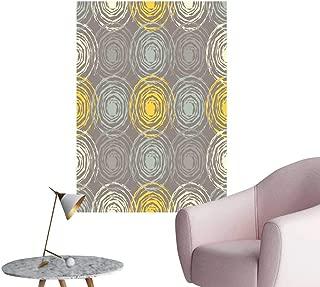 SeptSonne Wall Decoration Wall Stickers ethni Boho Print Repeat backgroun Cloth Design Wallpaper Print Artwork,16