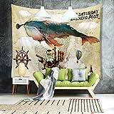 AIKAI Tapisserie-Zusammenfassungs-Mode-Badetuch-Strand Mat Fashion Mural Background Wall 200 * 148CM