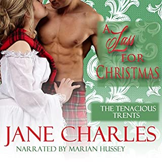 A Lass for Christmas audiobook cover art