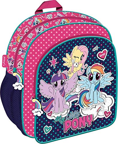 My Little Pony kinderrugzak, voorlurrugzak, kleine rugzak, kleuterschool-rugzak, tas, school, klasboek, pony