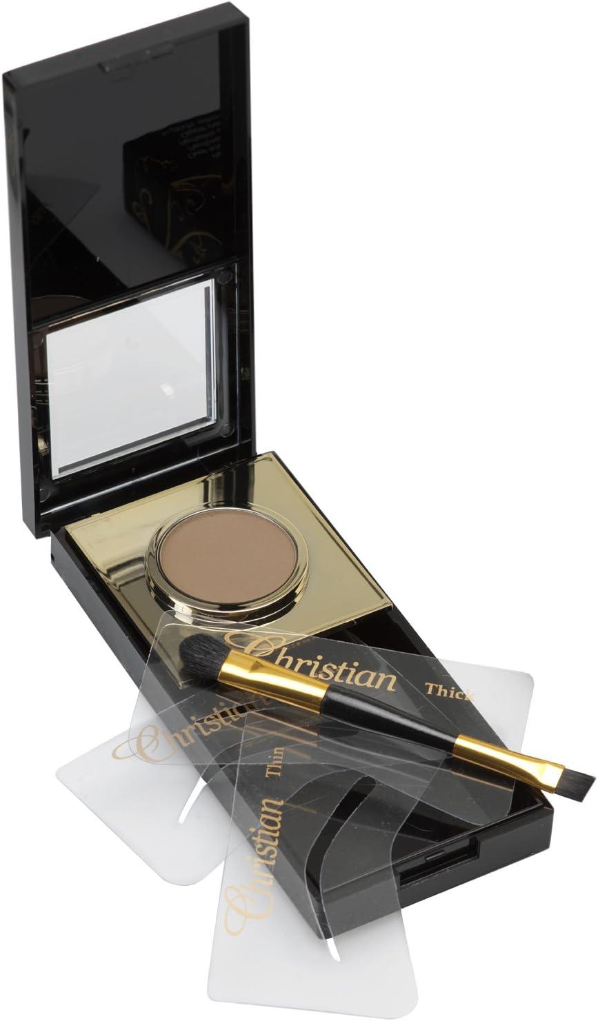 Kit Cejas cristiana maquillaje semipermanente de cejas Marrón Oscuro