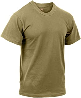 AR 670-1 Compliant Coyote Brown Military T-Shirt, 3-Pack