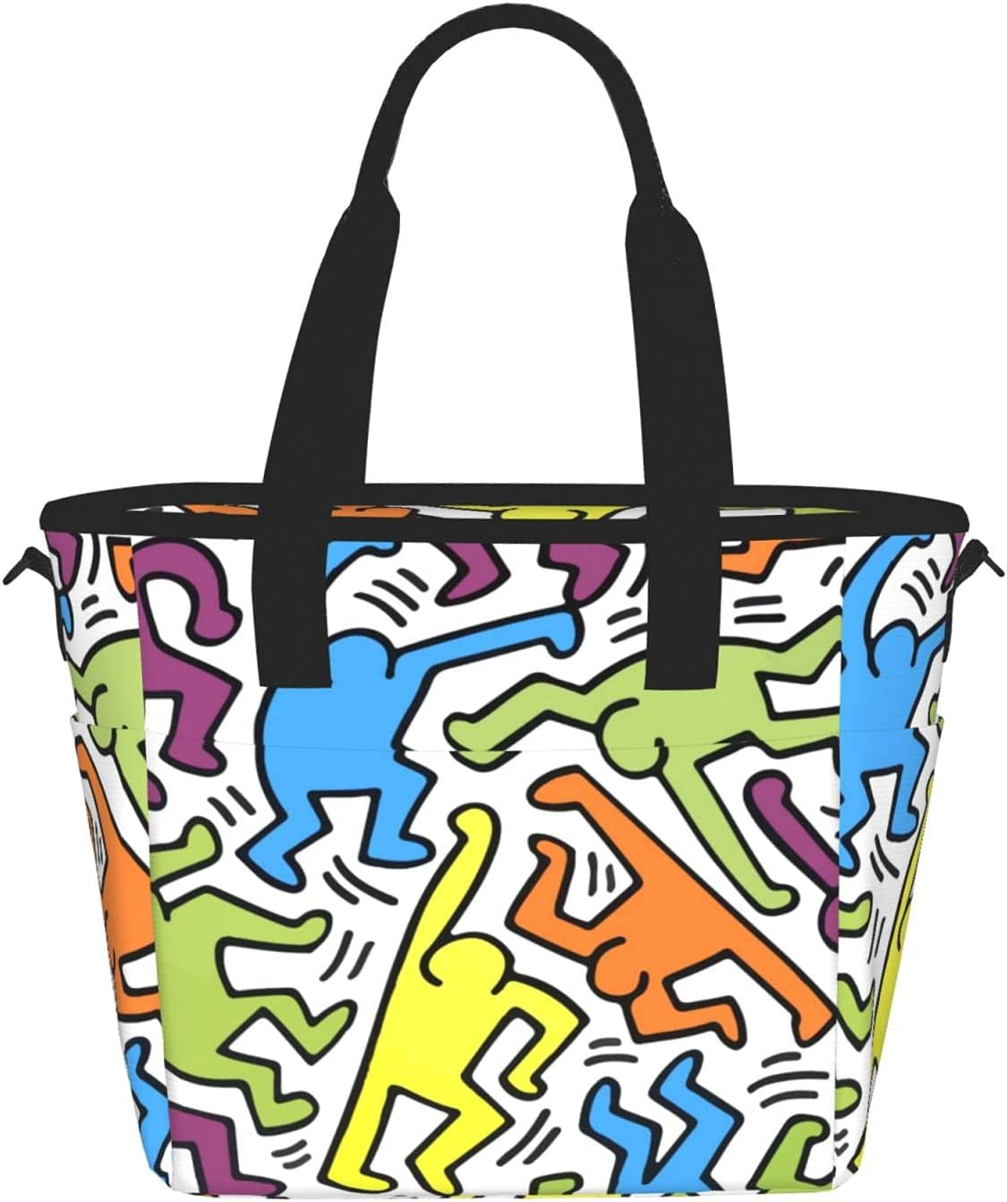 Los Angeles Mall Cool Graffiti Art Reusable Insulated Bag Lunch Contain Food Tote lowest price
