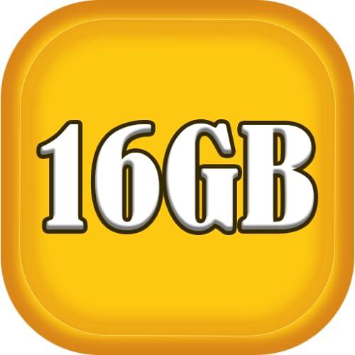 16GB Ram clean master Speed Booster clean